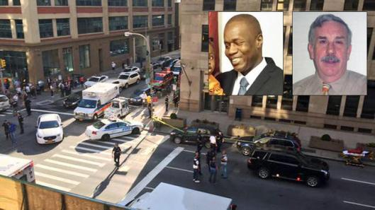 Security Guard Idrissa Camara, FJC Security Services, NYC Federal Building Shooting, Kevin Downing, SECURITY GUARD KILLED IN MANHATTAN