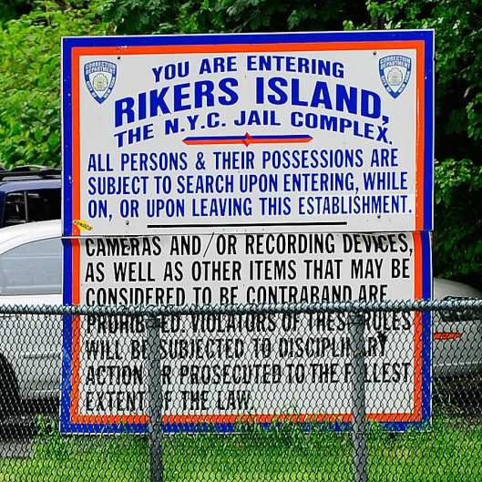 Rikers Island, Correctional Facility, Prison, NYC Prisons