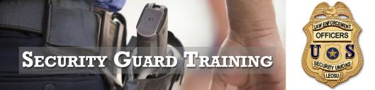 Security Guard Training, LEOSU