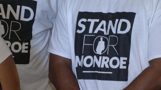 TULSA, Oklahoma, Stand for Monroe, Security Guard Shooting