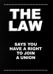 The Law Says You Have the Rigt to Join a Security Guard Union