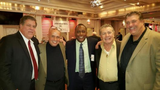 NY Yankee Legend Billy Sample, Middleweight Boxing Champion Vito Antuofermo, LEOSU