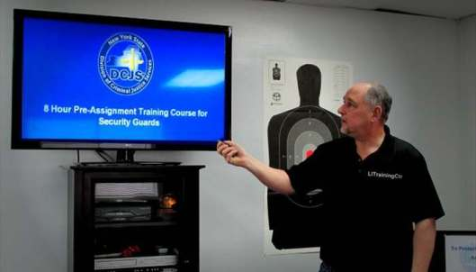 Long Island Training School, Security Guard Training
