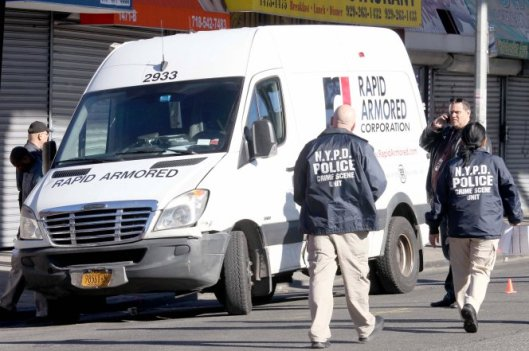 Rapid Armor Corp, Rapid Armored, Armored Car Driver & Messenger, Armored Car Robbery, Bronx NY