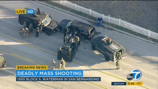 San Bernardo shooting, California