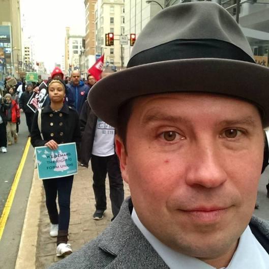 Fabricio M. Rodriguez, Security Guards, Philadelphia troublemaker, hell-raiser, outside agitator