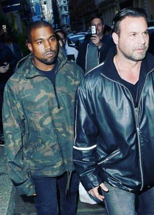 Steve Stanulis, Kanye West Security Guard, Kim Kardashian