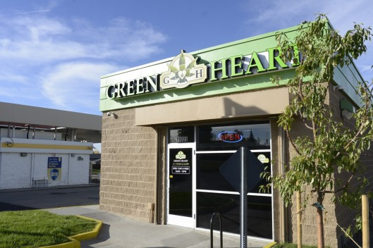 greenheart marijuana dispensary, security guard shot