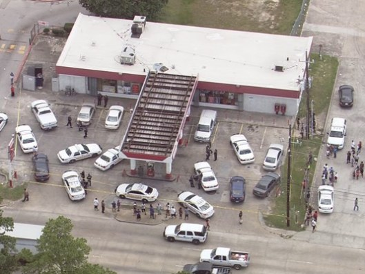 Security guard shoots suspect at N. Harris County gas station,