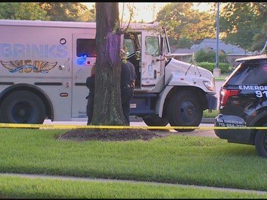 BRINKS SHOOTING, Brinks Armored Car Robbery