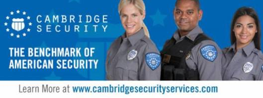 Cambridge Security, security guard jobs