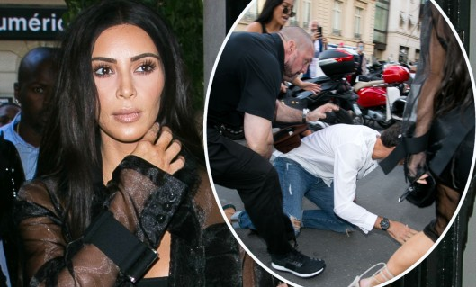 Kim Kardashian attacked by the same prankster as Gigi Hadid