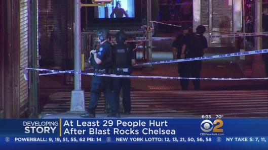 NYC Chelsea Explosion, bomb, terrorism