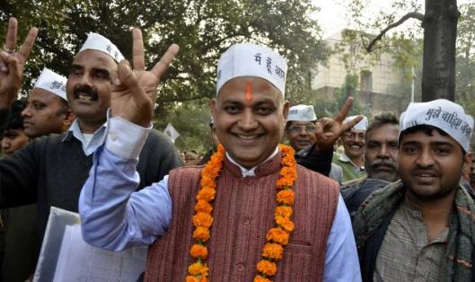 Somnath Bharti, AIIMS Security Guards, Assult