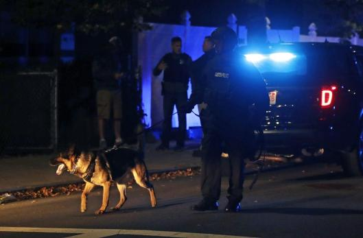 2 Boston police officers shot