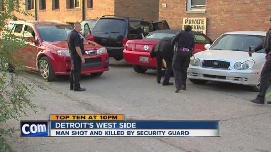 Detroit police investigating fatal shooting of man by female security guard