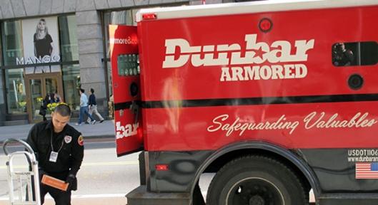 dunbar armored driver messenger