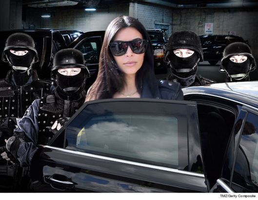 Kim Kardashian New Security Team