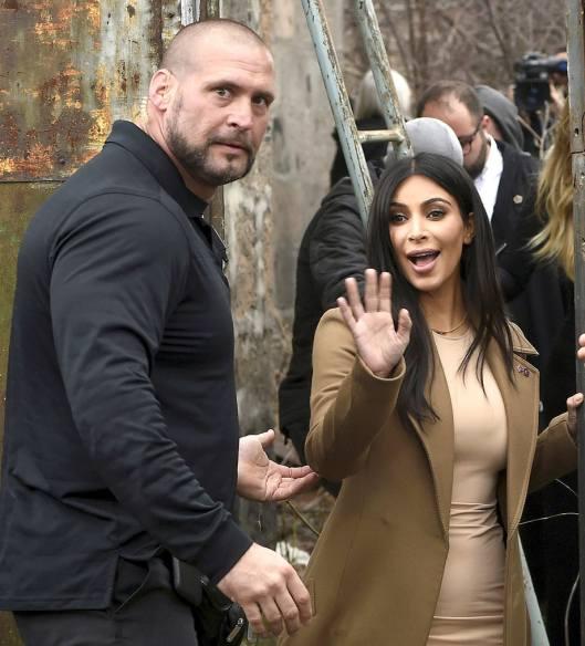 Kim Kardashian's Bodyguard