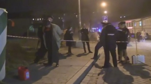 Security Guard Shot, Attack on Moscow Choral Synagogue