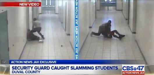 Security guard Robert Fields, school-security-guard-slams-student