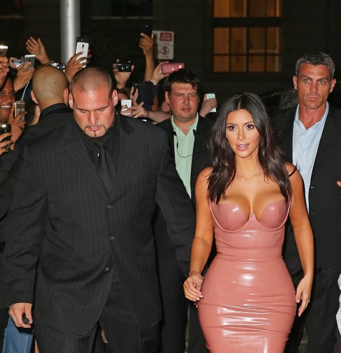 Kim Kardashian bodyguard fired, Security Guard Pascal Duvier