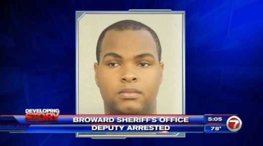 Trazell McLeod, Broward Sheriff's deputy, Sex from a security guard