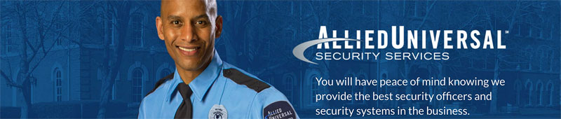 Universal Protection Security Guard Bookhotelstk