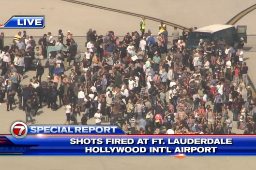 ft lauderdale shooting, airport security