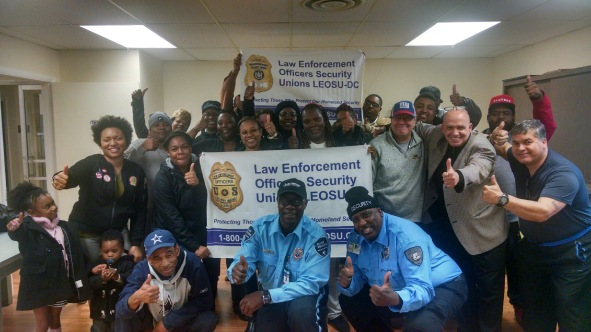 Allied Universal Officers Richmond Virginia, Allied Universal Security Guards Join Union, LEOSU-DC