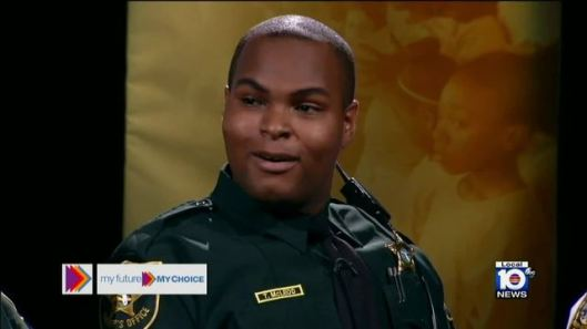 Trazell McLeod, Security Guard, A former rookie deputy with the Broward Sheriff's Office