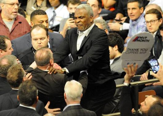 Charles Oakley Arrested after shoving A Security Guard At A Knicks Game,
