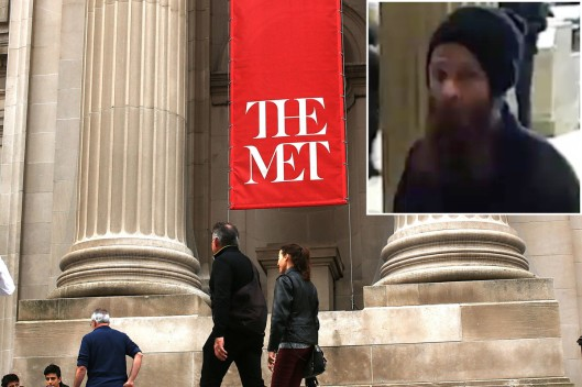 Brandon Aebersold, Security Guard Attack, Metropolitan Museum of Art,