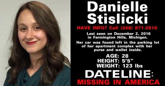 Danielle Stislicki-missing-poster
