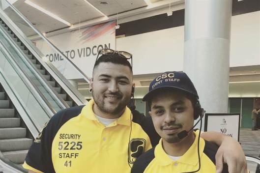 VidCon Incident, Joseph Hernandez Security Guard