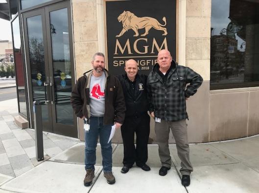 MGM Springfield Casino, MGM Casino Security Officers, LEOSU