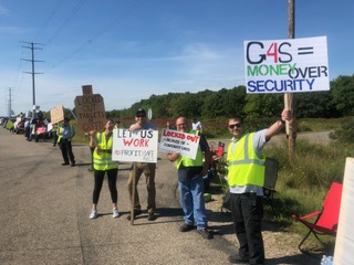 xcel energy monticello nuclear generating plant lockout, G4S