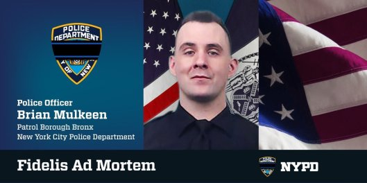 NYPD Officer Brian Mulkeen, NYPD, Officer Down